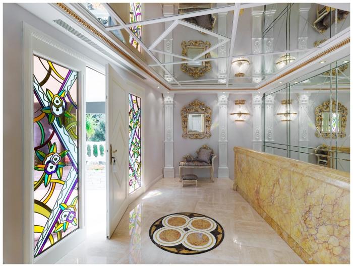 Villa Dell' Arte : Luxe, staff et corniches…