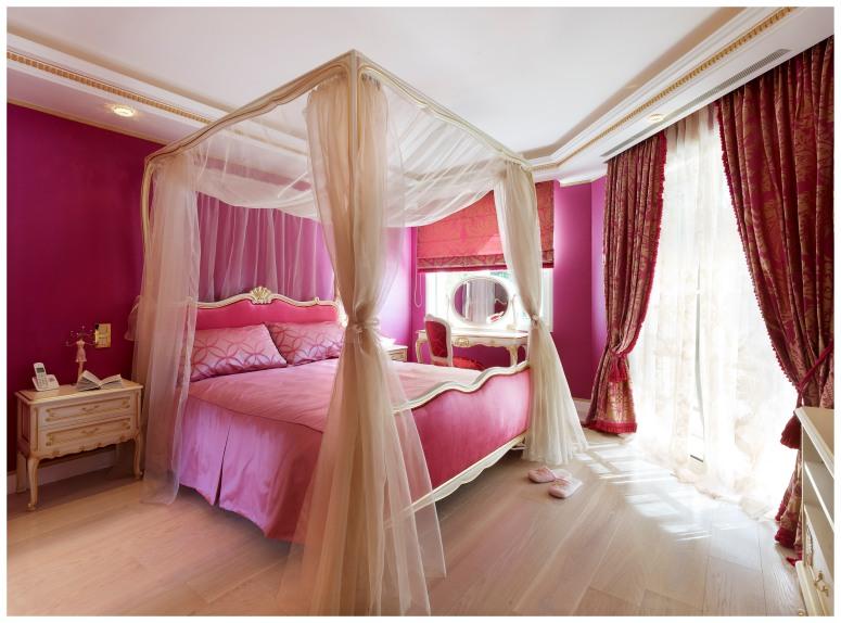 Chambre de jeune fille, Villa Dell' Arte.
