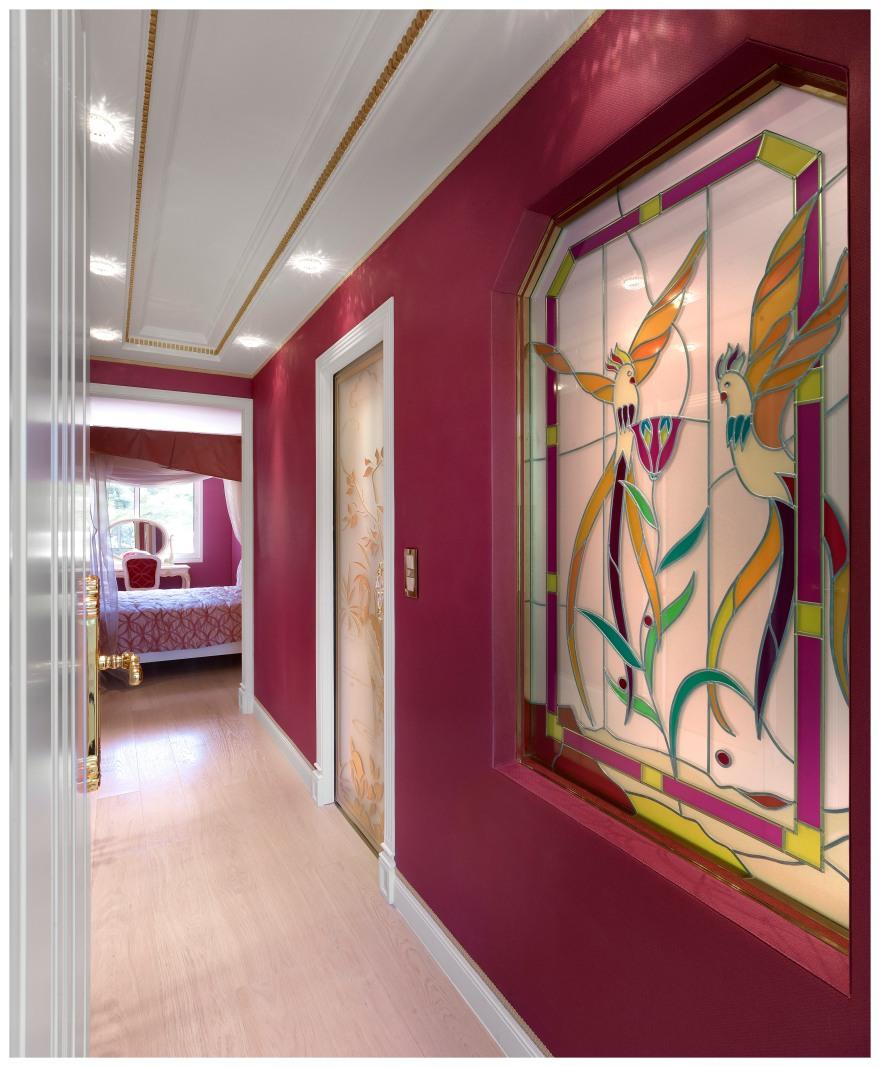 Vestibule chambre jeune fille, Villa Dell' Arte.